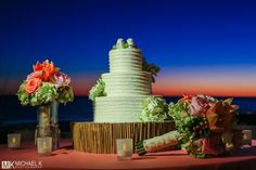 We love this cake table!!!