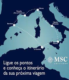 No #Mediterraneo há cruzeiros durante o ano todo. Quer saber mais? Acesse o nosso site!