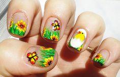 Diseños de uñas pintadas, diseño de uñas pintadas con dibujos. Clic Follow,  #uñasdecoradas #nails #uñassencillas
