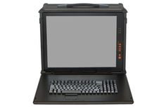 Check this TITAN series rugged chassis which is portable and compact. Chassis is constructed of all aluminum outer shell with shock absorbing composite rubber corner blocks. #portablecomputer #rackmount #technology #militarycomputer
