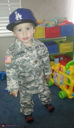 U.S. Army Soldier - Homemade costumes for babies