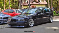 BMW e36 touring on cult classic OZ AC Schnitzer typ 1 wheels