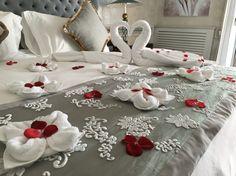 Honeymoon set up