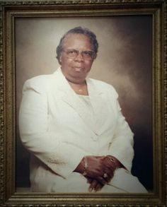 The Sainted Mother Willie Mae Rivers, General Supervisor of the Women's Department, Church of God in Christ 1997-present. Long may she reign.