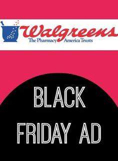 Walgreens Black Friday Ad 2013 (25 Freebies!)