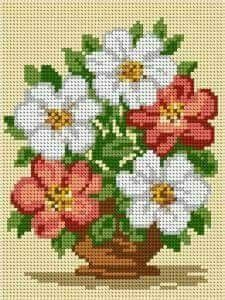 Punto a croce - #croce #punto Cross Stitch Flowers, Cross Stitch Patterns, Potpourri, The Incredibles, Pure Products, Embroidery, Pretty, Crafts, Crochet