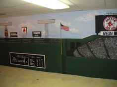 Sports STADIUM MURAL On Wall Around Kid Room   Google Search Part 61