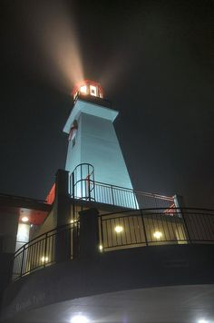 Port Credit lighthouse, Mississauga, Ontario, Canada