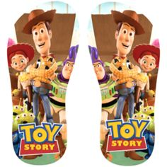 Estampa para chinelo Toy Story 000963