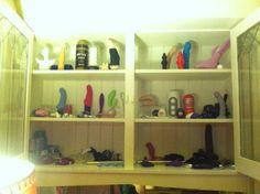 from @Erika Moen Toy Storage, Storage Ideas, Toy Display, Toy Organization, Erika, Shoe Rack, Porn, Organization Ideas, Shoe Cupboard