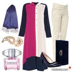 Tüm kombin önerileri için >> www.tesetturgiyim.com << #Modanisa #tesettür #hijab