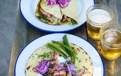 Lohitortillat Salmon, Seafood, Recipies, Tacos, Mexican, Fish, Tortillas, Eat, Cooking