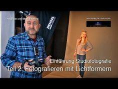 ▶ Einführung Studiofotografie. Teil 2: Fotografieren mit Lichtformern - YouTube