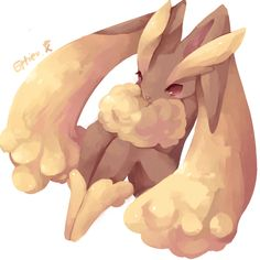 Lopunny by Effier-sxy