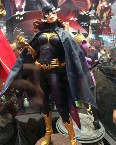 #Batgirl #statue at the #SideshowCollectibles booth! #Batman #BarbaraGordon  #NewYorkComicCon #NewYorkComicCon2015 #NYCC  #NYCC2015