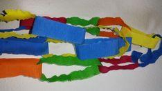 Papierkette,  girlande schnell und einfach selber basteln