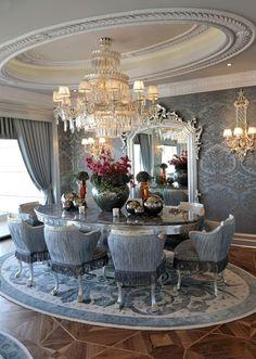 Glamorous Style.♥..¸¸.•♥• Dining room