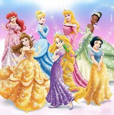 Disney Princess Photo: A New Disney Princess Line Up! Old Disney, Cute Disney, Disney Girls, Twisted Disney Princesses, Walt Disney Princesses, Disney Princess Lineup, Disney Princess Pictures, Disney And Dreamworks, Disney Pixar