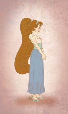 Thumbelina | Thumbelina by rebzkadoodles