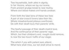 romeo juliet william shakespeare essays