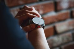 South Korean company Dot has developed a smartwatch that only displays information in braille, and is calling it a world first Sebastian Jordahn Dezeen Watch Store, Smart Watch, Watches For Men, Display, Product Design, Korean, Wristwatches, Product Photography, Philosophy