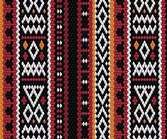 In the Middle East, Al Sadu weaving is a traditional embroidery form of weaving that is hand woven by Bedouin women. Sadu is commonly seen on fabric used in tents or majlis floor pillows, carpets,. Watercolor Wallpaper, Watercolor Logo, Tribal Pattern Art, Border Embroidery Designs, Illustration Art Drawing, Native Design, Mask Design, Fabric Patterns, Adobe Illustrator