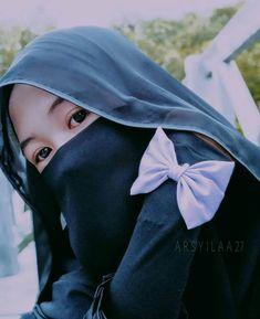 Hijab Teen, Baby Hijab, Arab Girls Hijab, Muslim Girls, Muslim Women, Hijab Niqab, Hijab Chic, Niqab Fashion, Muslim Fashion