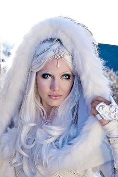 """""""The Winter Queen"""" by ~Jolien-Rosanne - In Northern tradition, Skaði is the spirit of the north wind."""
