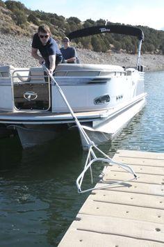 Landing Loop Docking Guide: tested by PDB! Pontoon Boat Accessories, Lakefront Property, Boat Lift, Boat Stuff, Improve Posture, Boat Rental, Lake George, Lake Life, Boat Building