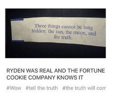 All evidence points to Ryden being real. The only pieces missing are statements from Beebo and Ryan about it stating it was real. <<< isn't that something from Teen Wolf? Emo Band Memes, Emo Bands, Music Bands, Northern Downpour Lyrics, Ryden Ship, The Wombats, Dallon Weekes, I Fall Apart, Cookie Company