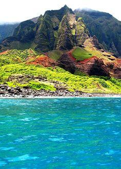 NaPali Coast, Kauai, Hawaii #worldtraveler