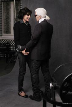 Chanel The Little Black Jacket Shooting, Ines de la Fressange