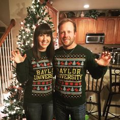 It's a Bear-y Merry Christmas for this BaylorProud home!! :christmas_tree: