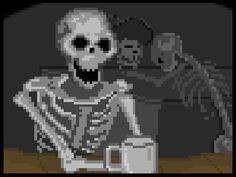 After Sleep Comics - Night Shift Horror by Turgut Işın Night Shift, Perler Beads, Pixel Art, Horror, Art Gallery, Darth Vader, Sleep, Comics, Games