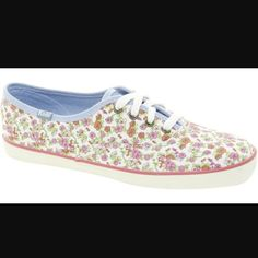 a101d8daf40 Not Too Shabby Laceless Keds. See more. Keds Original Floral Design Shoe  Floral Sneakers