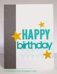 CAS birthday card