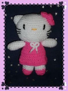 Amigurumis *.*: Hello Kitty Amigurumi con Patron