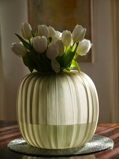 Picture by a Happy Customer: GUAXS Vase Manakara Round in smokegrey Vase, Decorative Accessories, Floral Design, German, Dressing, Inspired, Decoration, Interior, Modern