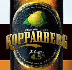 Kopparberg - im not a huge drinker but this is definitely my fave bevvy