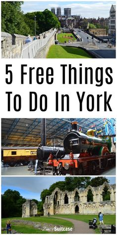 5 Free Things To Do In York England UK