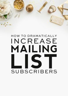 how to dramatically increase email subscribers