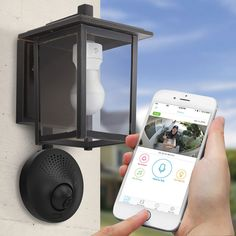 These innovative outdoor Wi-Fi security cameras only need access to a porch or garage light to power them up - no wiring required.