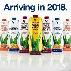 The new Forever Aloe Vera Gel in Tetra Pak form is coming in 2018. Are you excited about the new design? let us know what you think in the comments below. With the new form of Forever Aloe Vera Gel, we will continue to help people all over the world look better, feel better. #ForeverProud #ForeverAloeVera #2xForever