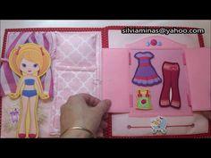 布書1----我的公主布書my princess quiet book - YouTube