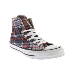 Converse Chuck Taylor All Star High Top Sneaker - Black/Red/White... (€41) ❤ liked on Polyvore featuring shoes, sneakers, casual footwear, casual shoes, black sneakers, black white sneakers, black high tops, converse sneakers and converse shoes