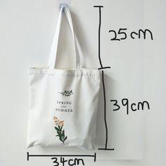 Diy Tote Bag, Bag Patterns To Sew, Fabric Bags, Canvas Shoulder Bag, Shopper Bag, Reusable Bags, Cotton Bag, Cloth Bags, Handmade Bags