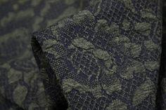 Bumpy Green Garden - Knit - Tessuti Fabrics - Online Fabric Store - Cotton, Linen, Silk, Bridal & more