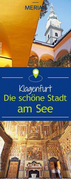 Wir stellen euch Klagenfurt, die schöne Stadt am See vor.