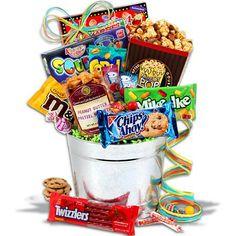 Junk Food Bucket™ by GourmetGiftBaskets.com