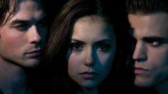 Damon, Elena y Stefan